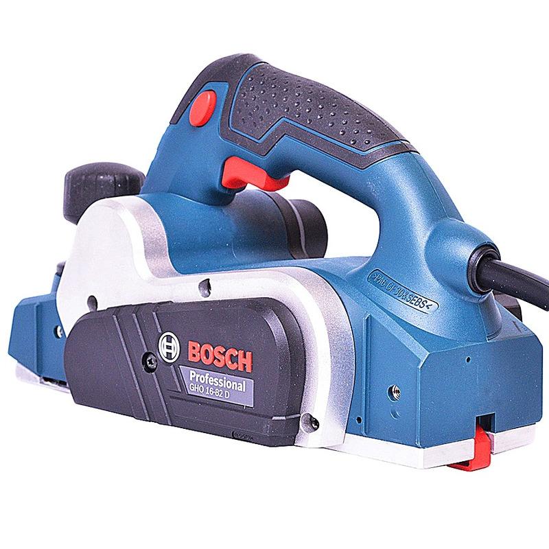 Plaina Profissional 630 Watts - GHO 16-82 D - Bosch