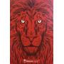 Bíblia Jesus Copy Leão Vermelha Capa Dura Lançamento