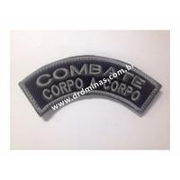 Patch / Distintivo Bordado Combate Corpo a Corpo - U