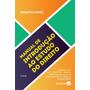 Manual De Introdução Ao Estudo Do Direito 16ª Ed. 2019