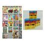 Kit 50 Revistas De Colorir 50 Caixas De Giz De Cera