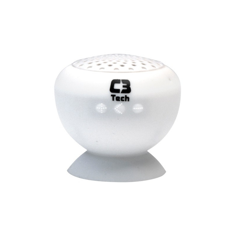SPEAKER BLUETOOTH SP-12B BRANCO C3T