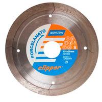 Disco Diamantado Clipper Norton Porcelanato 110 x 8 x 20