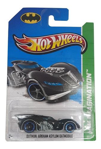 Carrinho Hot Wheels 1/64 Batman Arkham Asylum Batmobile 2013 Original