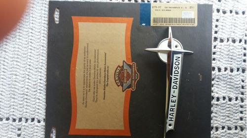 Emblema Panhead Harley Davidson ( Apenas Lado Direito )