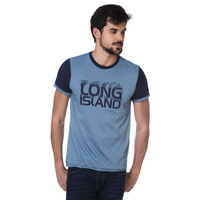 Camiseta Long Island Azul