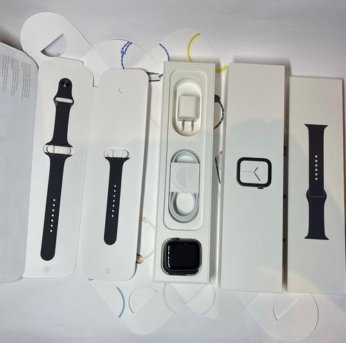 Apple Watch Series 4 44mm Aço Inoxidável (safira) Semi-novo Original