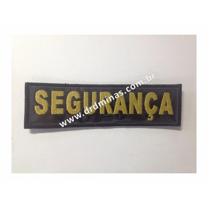 Etiqueta Bordado Segurança - I - U  15 x 5