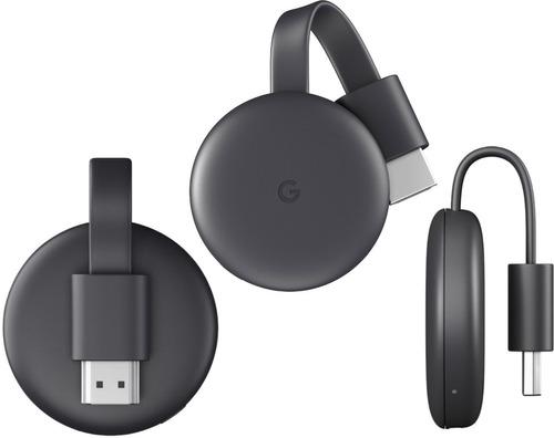 Google Chromecast 3º Geração Lançamento Pronta Entrega Novo Original
