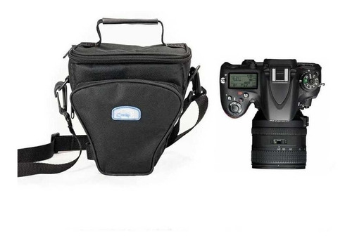 Bolsa Reflex Ii Triangulo Crazy Para Canon Nikon Sony Fuji Original