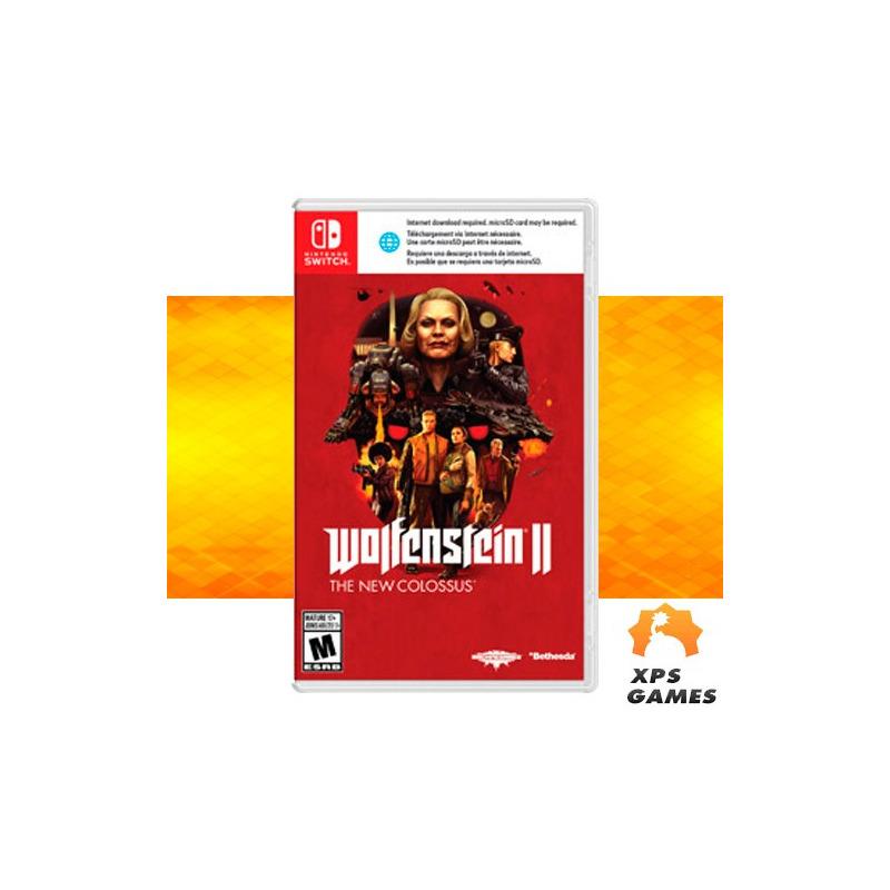 Jogo Wolfenstein 2 - Switch