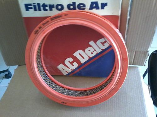 Filtro Ar Opala 90/92 E Chevette 92/94 Original Acdelco