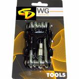 Chave Tipo Canivete WG 10 Funções Com Extrator De Corrente