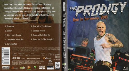 Blu Ray The Prodigy - Live In Germany 2009 Original