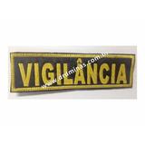 Etiqueta Bordado Vigilancia - U  15 x 5