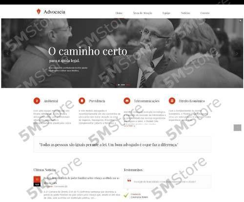 Site Advogado Em Wordpress Advocacia Escritório Empresa