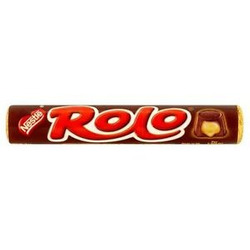 Chocolate com caramelo ROLO - Nestl&e...