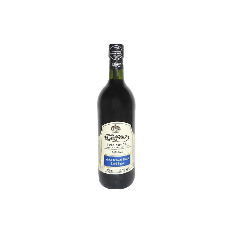 Vinho Tinto Semi Seco Izabel/Bordô 750ml (cxa c/ 12 uni) - Guéfen