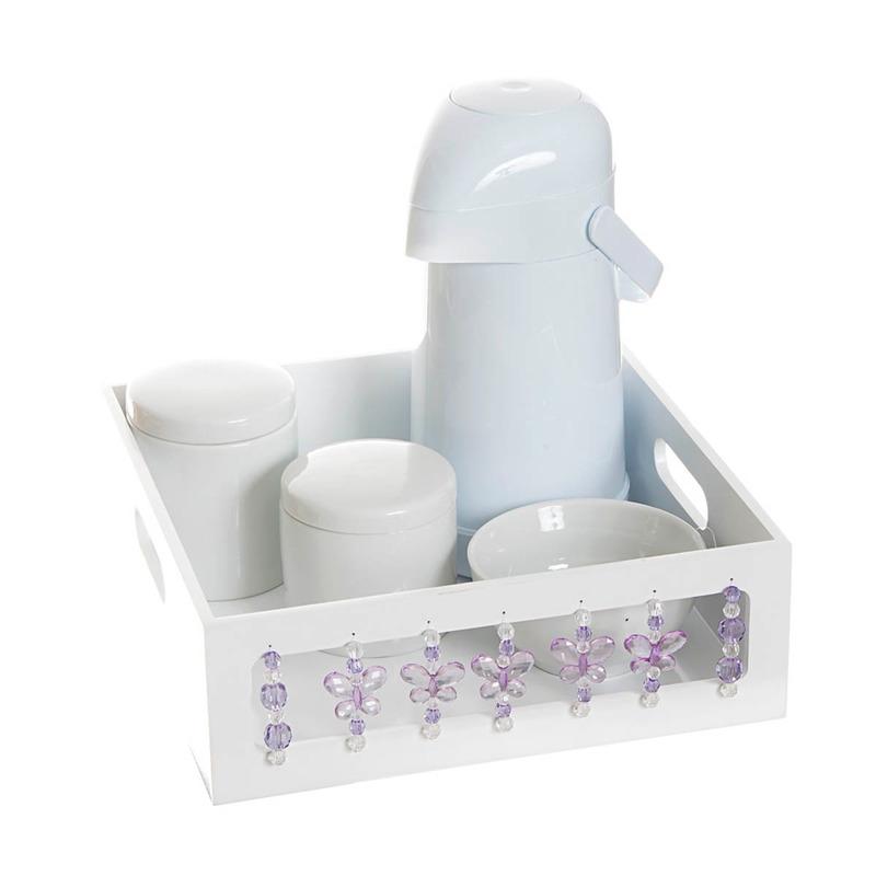 Kit Higiene Borboleta Lilas