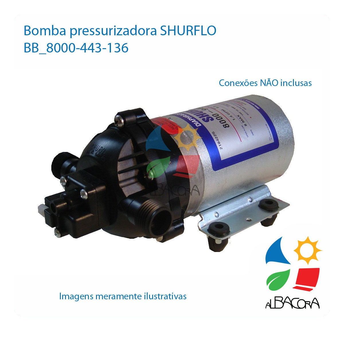 BOMBA SOL.SHURFLO 8000-443-136 12V