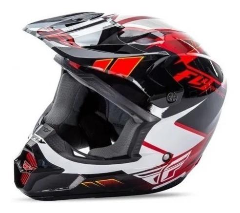 Capacete Motocross Enduro Bmx Fly Kinect Impulse Vermelho Original