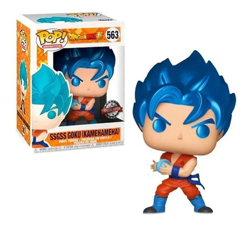 Funko Pop! Dragon Ball Ssgss Goku Hamehameha #563 Original