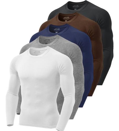 Camisa Térmica Segunda Pele Proteção Uv Nova Street Mista Original