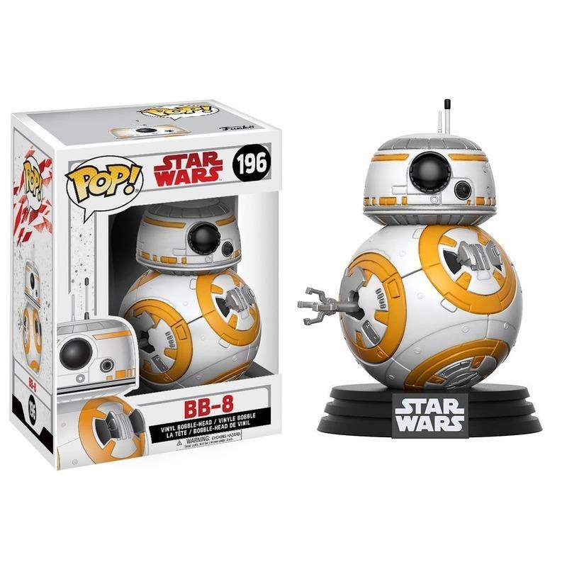 Bb-8 Pop Funko #196 - Os Últimos Jedi - Ep. 8 - 8 Star Wars