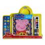 Livro Peppa Pig Meu Kit De Artes Com Adesivos, Aquarela E