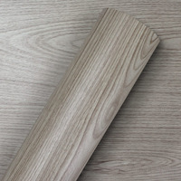 Adesivo para parede madeira clara inovata Larg. 1,22m