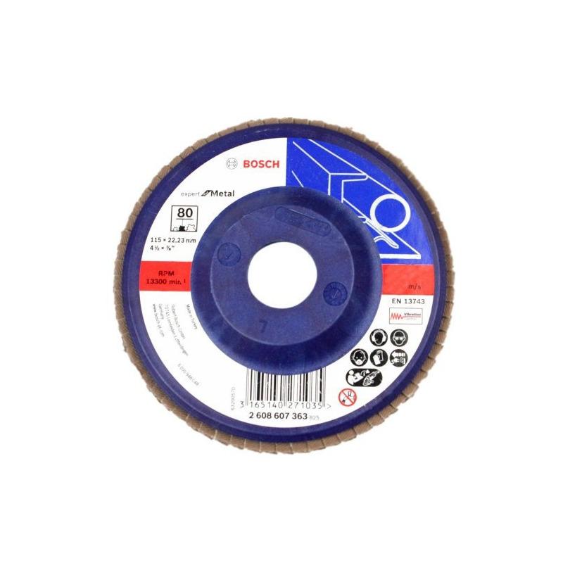 Flap Disc Reto 4.1/2 # 80 - Bosch