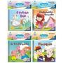 Kit Livro Do Bebê Banho Divertido Educativo 4 Livros Oferta