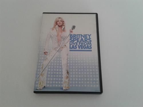 Dvd - Britney Spears - Live From Las Vegas Original