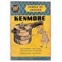 Manual Com Receitas Panela Pressão Kenmore Sears Anos 60