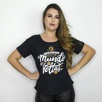 CROPPED PRETO - O MUNDO DA VOLTAS