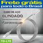 Cabo Aço Carregador Original iPhone 7 8 Xr Xs X Frete Grátis