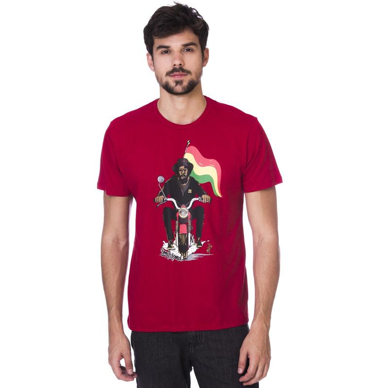 Camiseta Long Island Bob Vermelha
