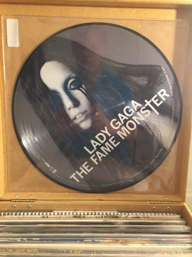 Lp Vinil Lady Gaga The Fame Monster Picture Disc Original