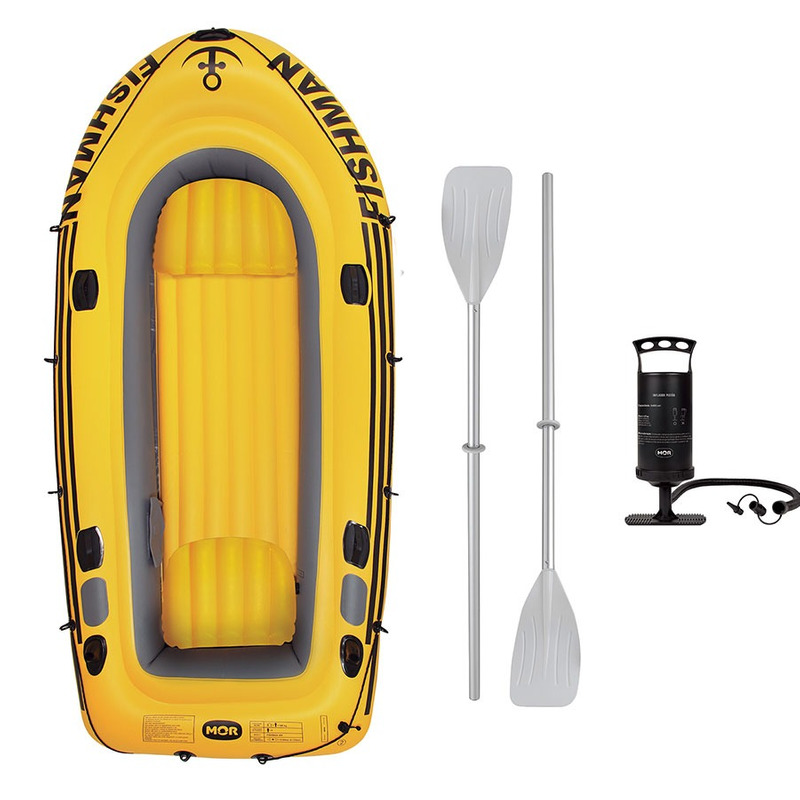 Barco Fishman 350 com Remo e Inflador 001854 - Mor