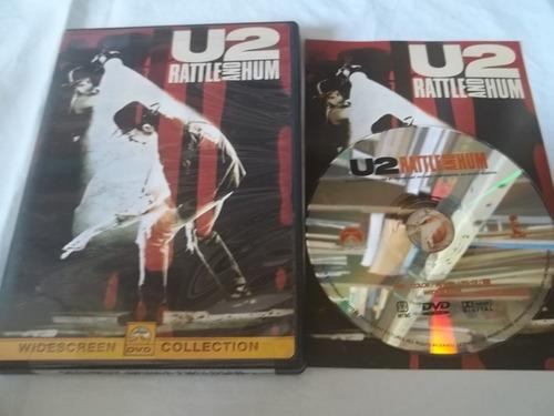 Dvd - U2 - Rattle And Hum Original