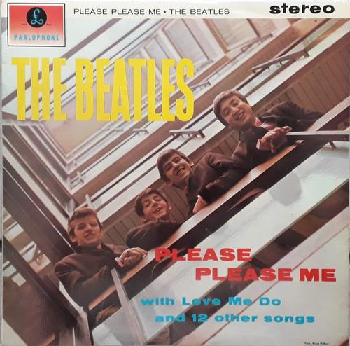 Lp Beatles Please Please Me Stereo 73 Uk Inglês Mix Original
