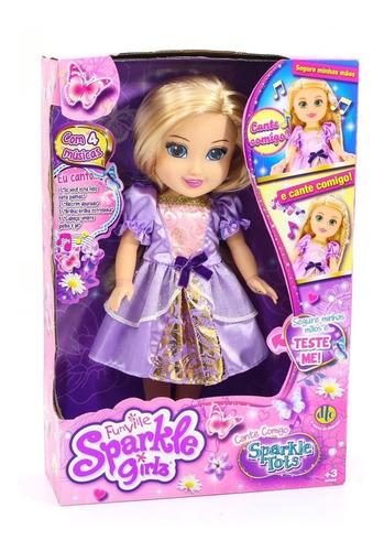 Boneca Sparkle Girlz - Cante Comigo - 4805 Original