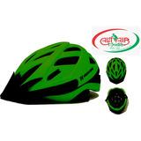 Capacete Bike Urbano S22 Tam M Verde Neon Fosco