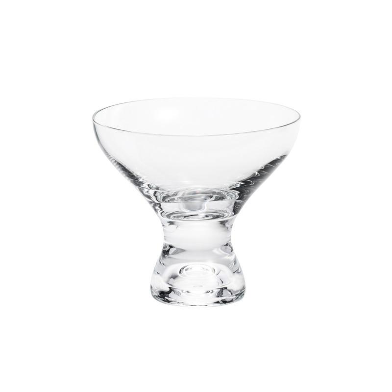 Jogo 06 taças para sobremesa em Cristal Vega - Bohemia 3105005