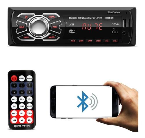 Radio Som Automotivo Mp3 Bluetooth Usb Pra Ford Focus 2003 Original