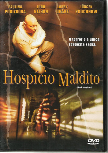 Dvd Hospício Maldito - Dark Asylum - Lacrado - Novo Original