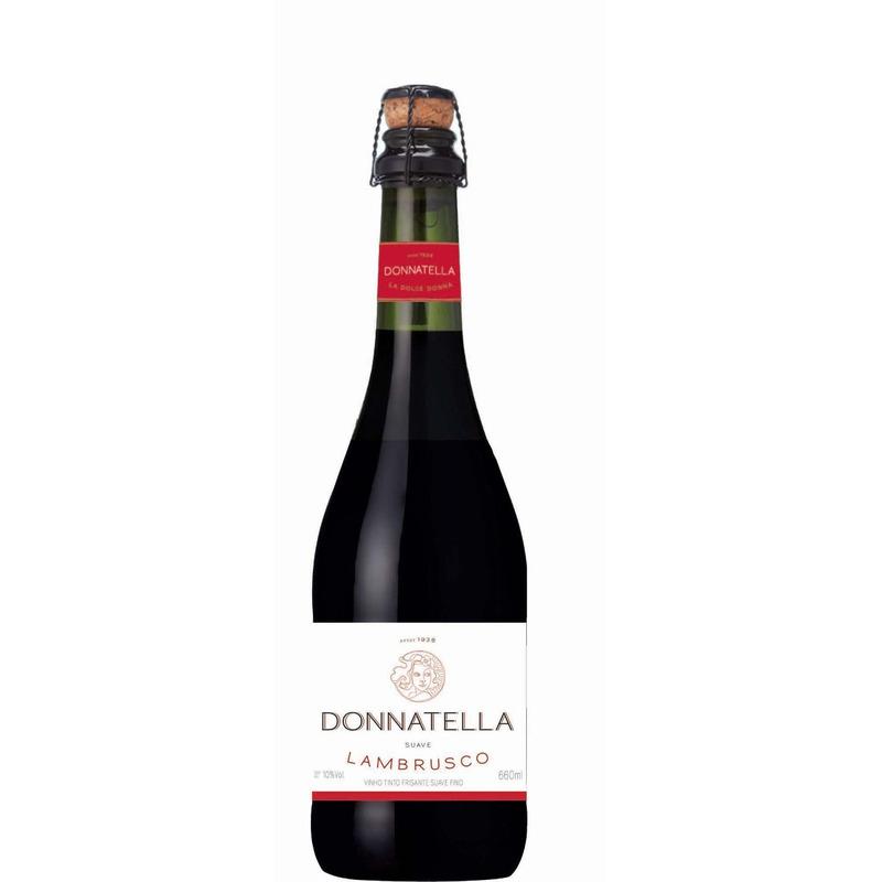 Prosecco Donatella Frisante Lambrusco Suave 660 ml - Góes