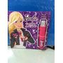 Livro Barbie Descubra Seu Talento Com Microfone