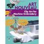Art Nouveau Clip Art For Machine Embroidery