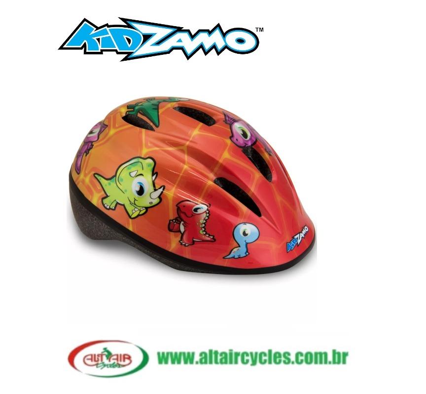 Capacete Ciclista Infantil Jurassic - Kidzamo